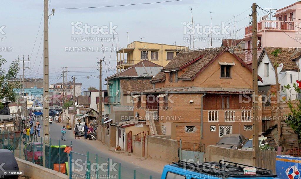 Underdeveloped city Antananarivo - Photo
