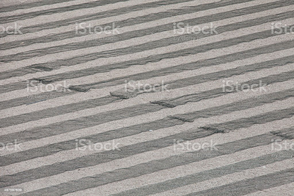 underfloor heating system stock photo