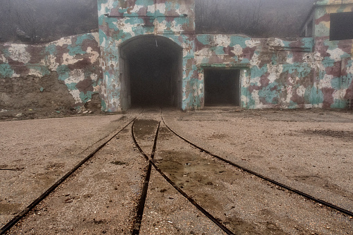 Underground Bunker Old Underground Soviet Military Bunker