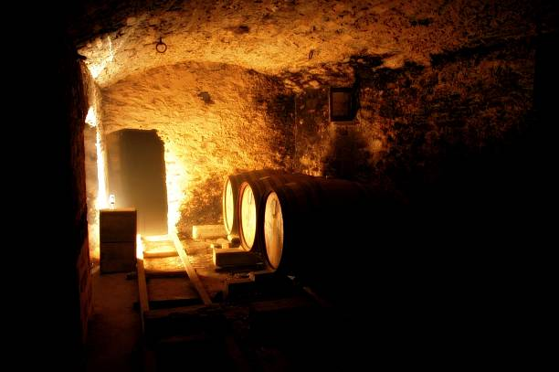 underground cellar - county clare stock pictures, royalty-free photos & images