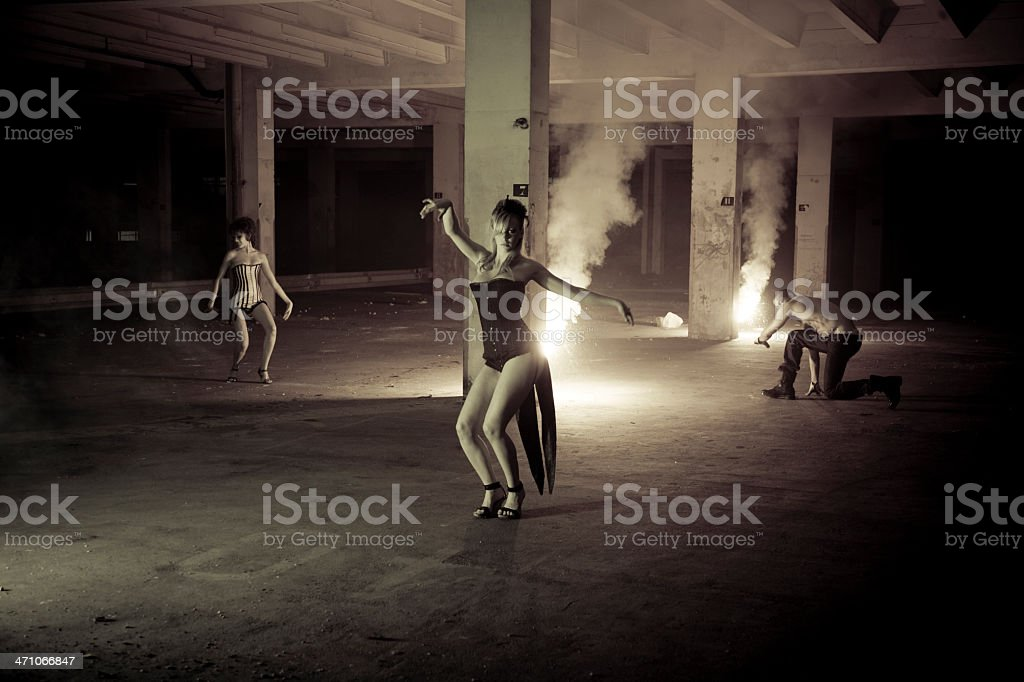 Underground Dance royalty-free stock photo
