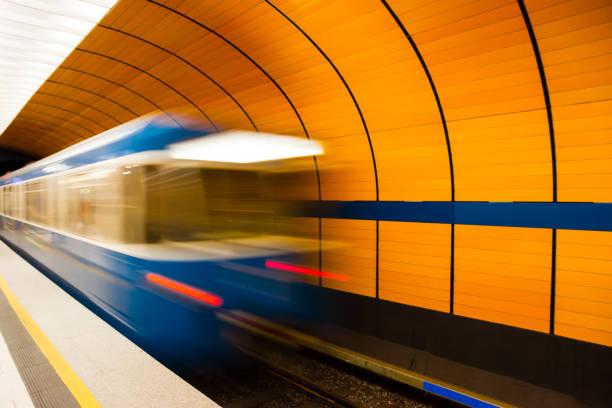 under jord i münchen, tyskland - munich train station bildbanksfoton och bilder