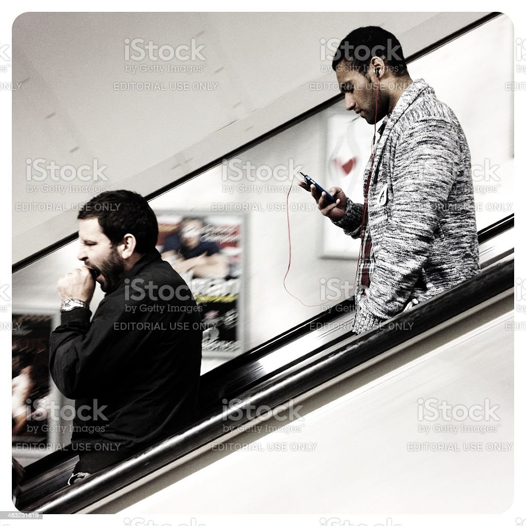 Underground music royalty-free stock photo