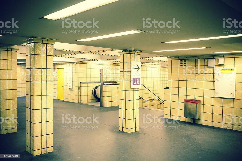 Der U-Bahn - – Foto