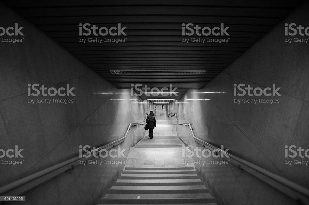 underground royalty-free stock photo