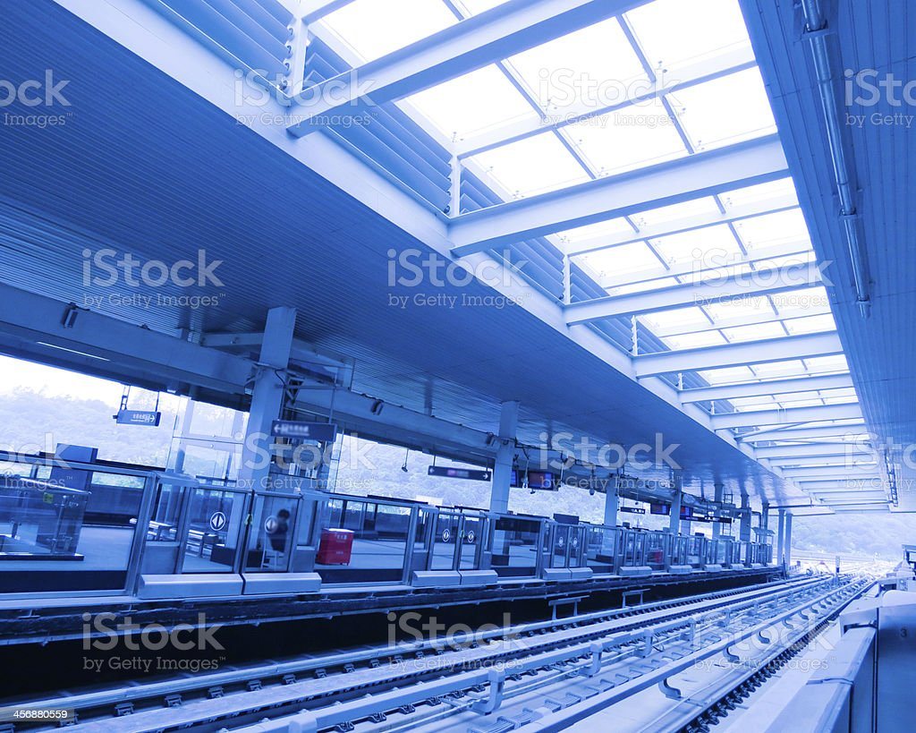 Underground Railroad sites and tracks stock photo