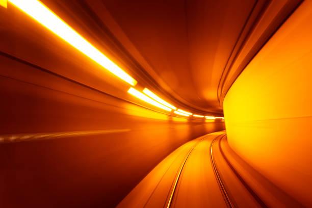 Underground subway tunnel