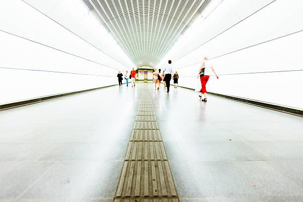 U-Bahn Tunnel in U-Bahn – Foto