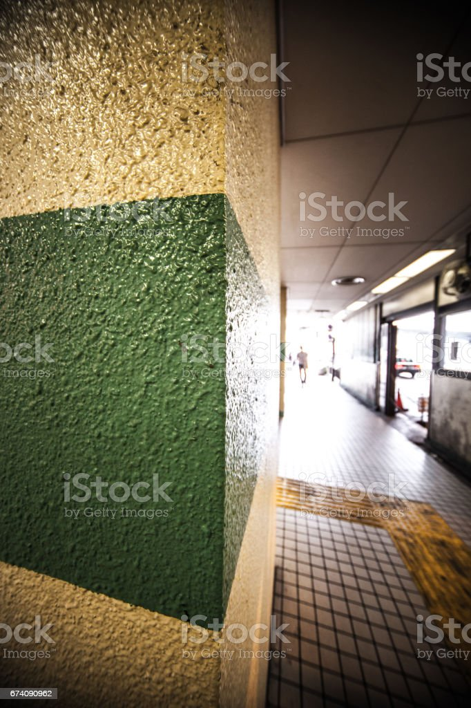 Underground tunnel in the city royalty-free stock photo