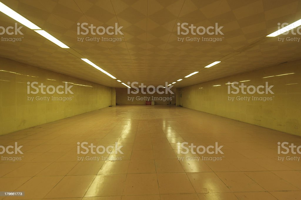 underground tunnel royalty-free stock photo