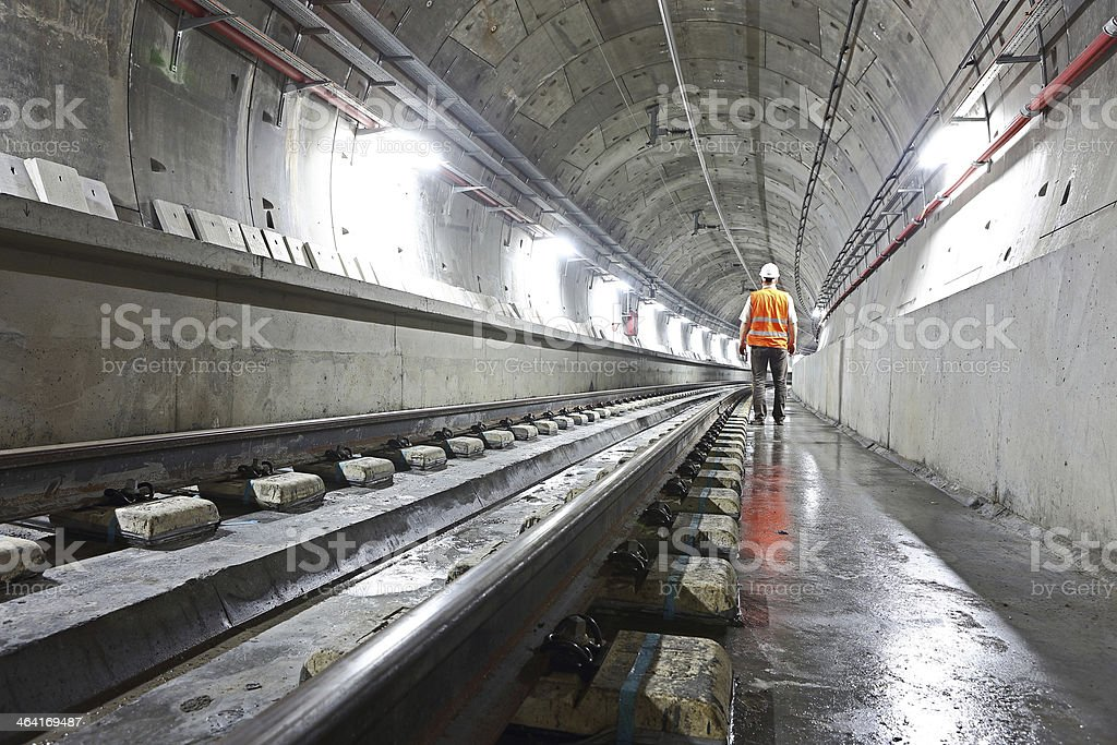 Underground Tunnel stock photo