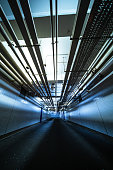 Underground tunnel road construction