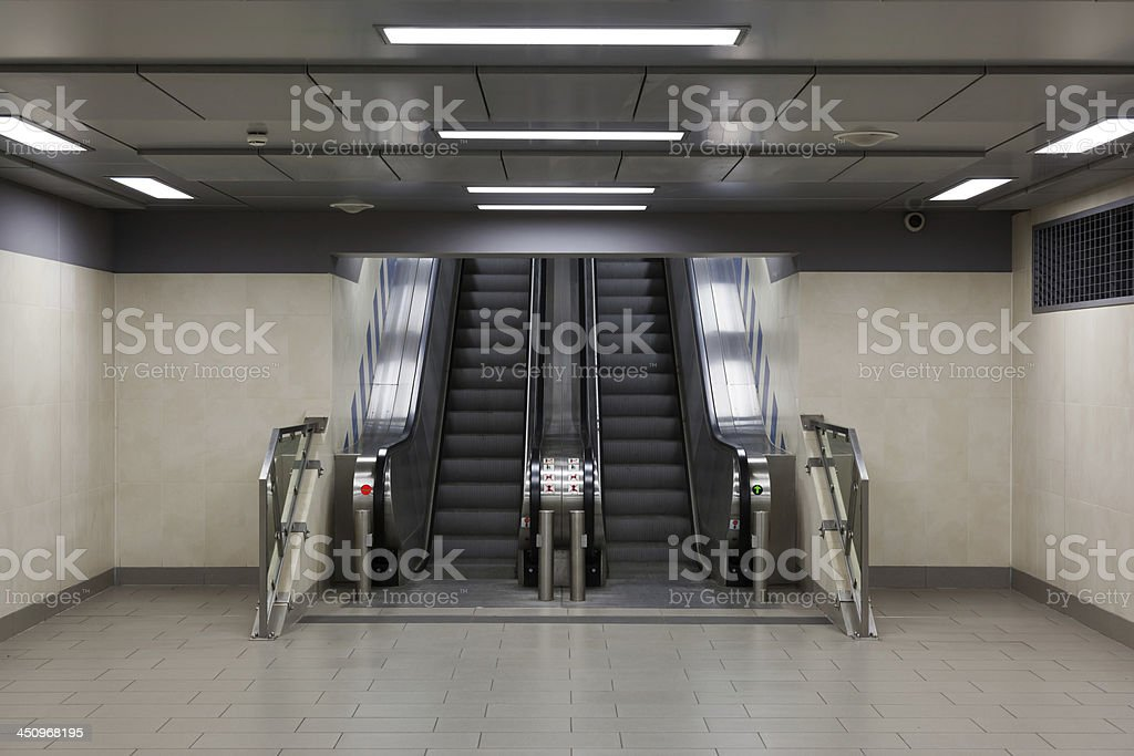 Underpass at the Station - XXXL stock photo