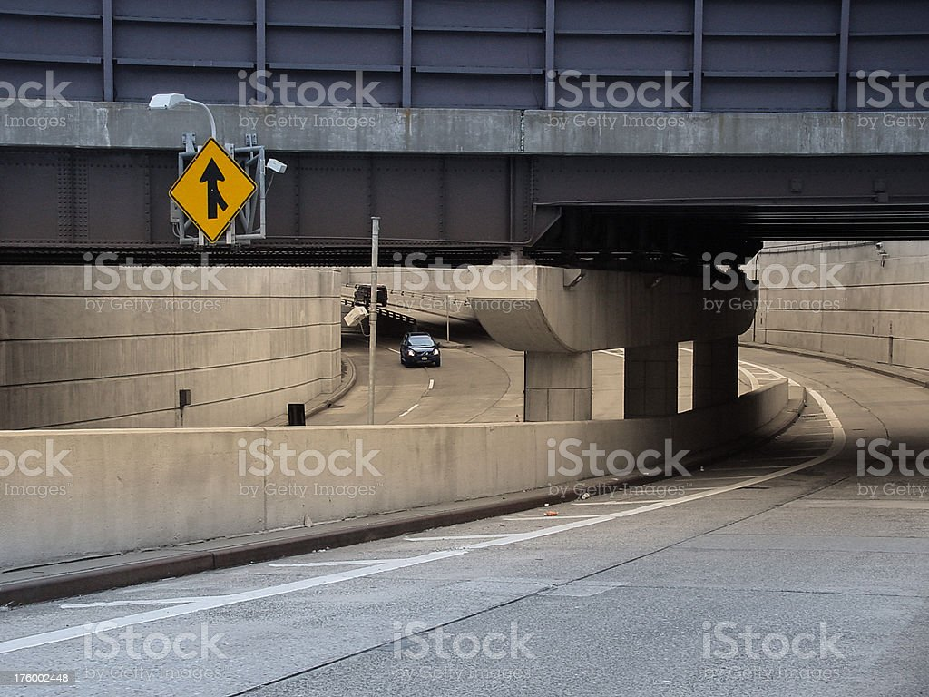 underpass royalty-free stock photo