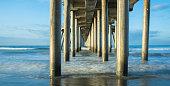 Huntington Beach - California, Orange County - California, Southern California, USA, Commercial Dock