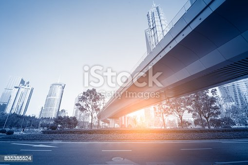 868153090 istock photo underside panoramic and perspective view to steel glass high rise building skyscrapers, business concept of successful industrial architecture 835385524