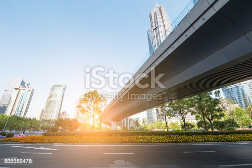 868153090 istock photo underside panoramic and perspective view to steel glass high rise building skyscrapers, business concept of successful industrial architecture 835386478