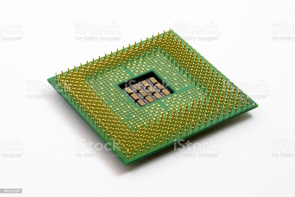 CPU Underside stock photo