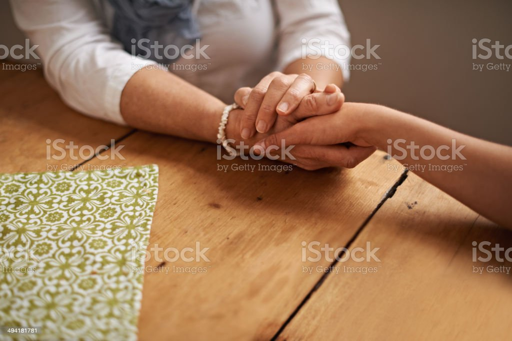 I understand... stock photo