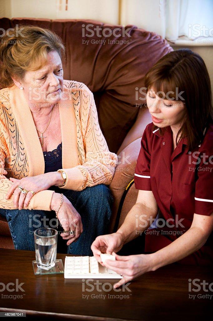 understanding medication stock photo