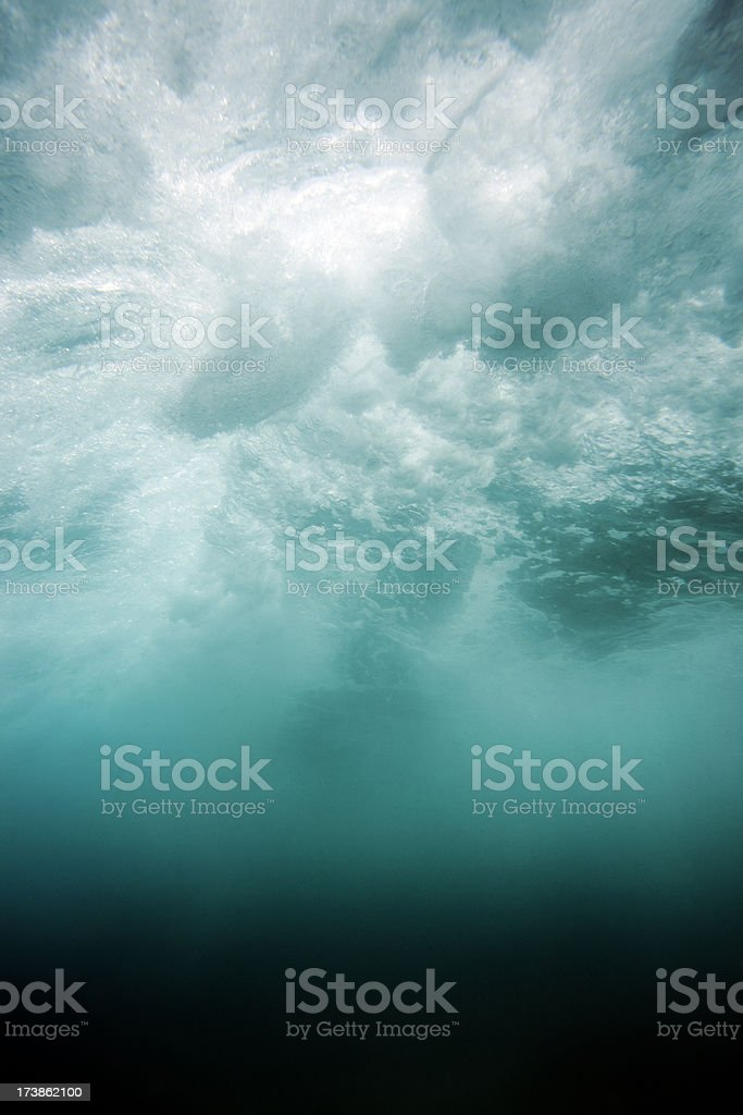 Underwater Abstract royalty-free stock photo