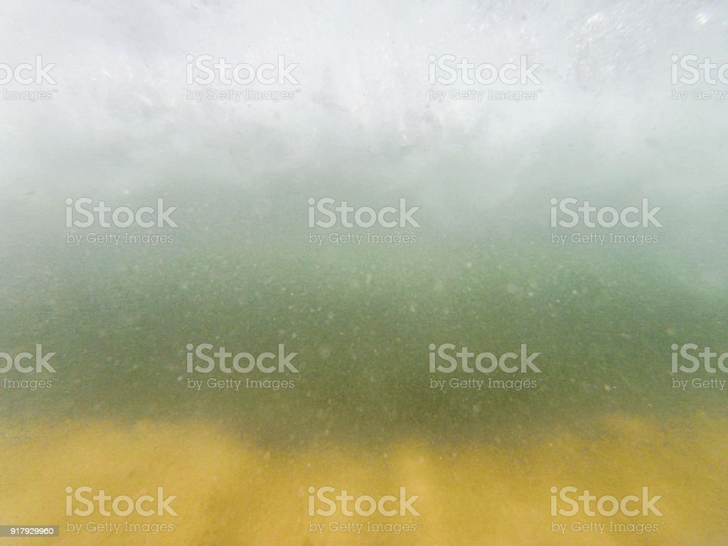 Underwater abstract turbid wave stock photo
