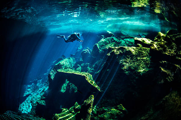 Cénotes de sous-marine - Photo