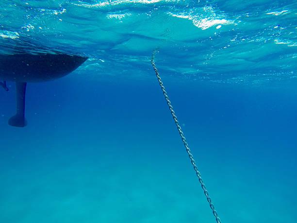 unterwasser-kette - kiel stock-fotos und bilder