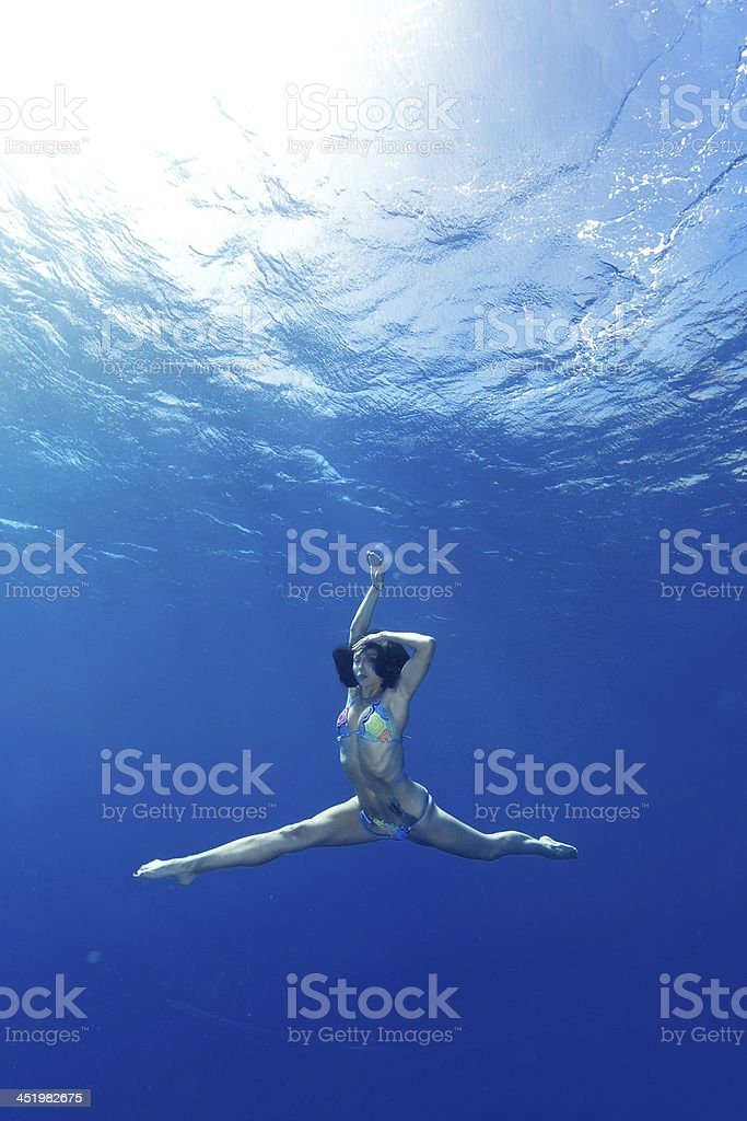 Unterwasser-Tanz – Foto
