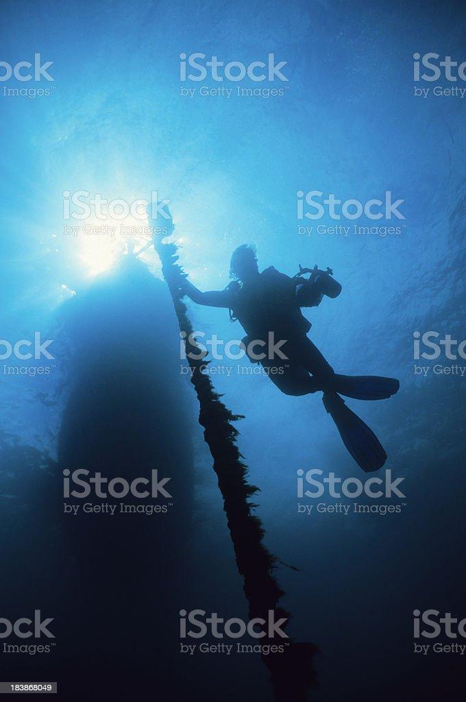 Underwater Explorer royalty-free stock photo