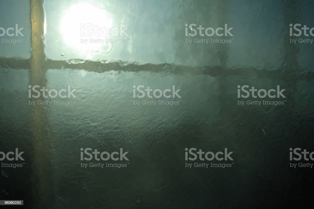 underwater frame and light royalty-free stock photo