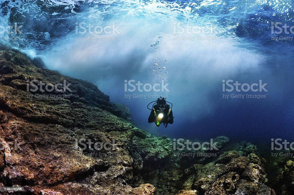 Underwater Mistery royalty-free stock photo