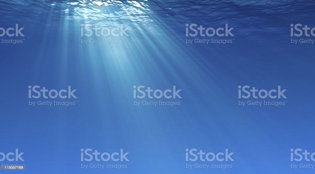 Debajo del agua - foto de stock