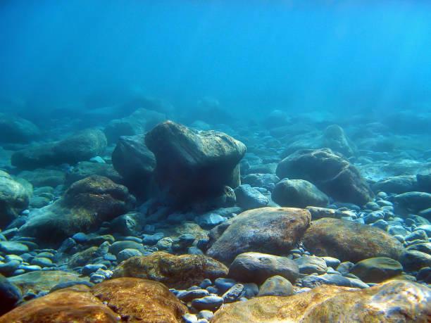 rocks sous-marine - Photo