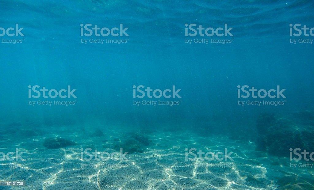 Underwater Scene 4 stock photo