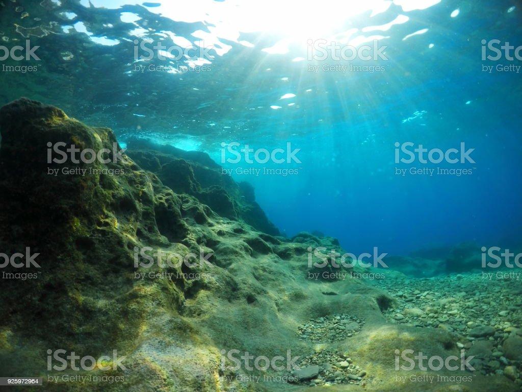 Unterwasser-Meer – Foto