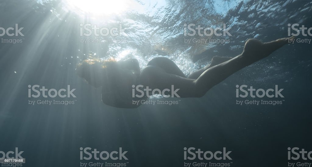 Underwater shoot stock photo