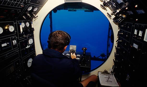 Unterwasser-u-Boot – Foto