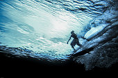Surfing in the Mentawai Islands, Sumatra, Indonesia