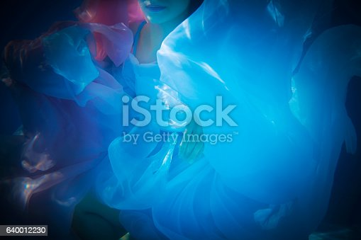 istock Underwater woman close up 640012230