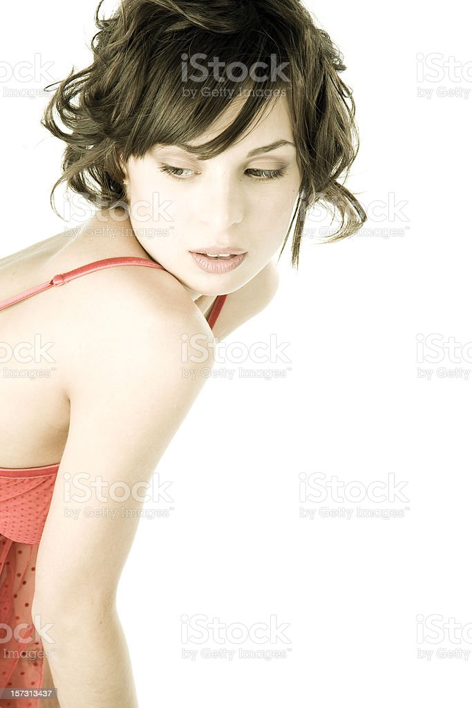 Underwear Portrait royalty-free stock photo
