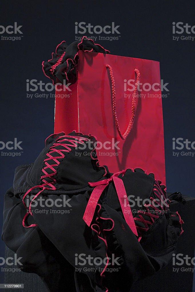 underwear shopping royalty-free stock photo