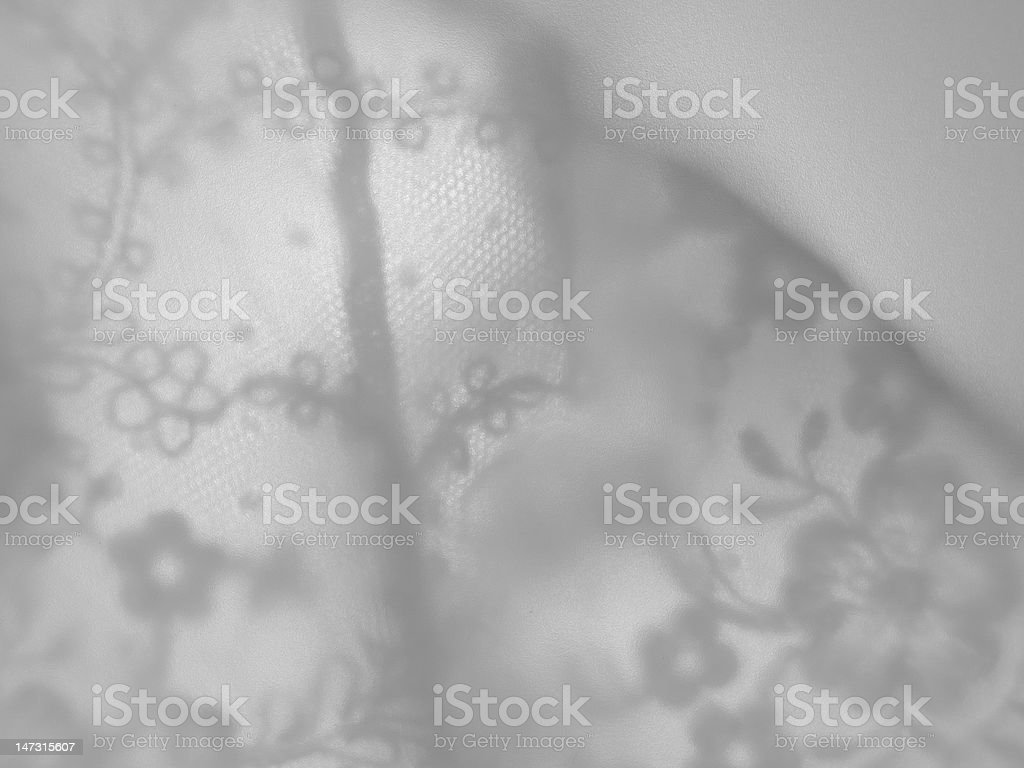 underwear white on frosted glass royalty-free stock photo