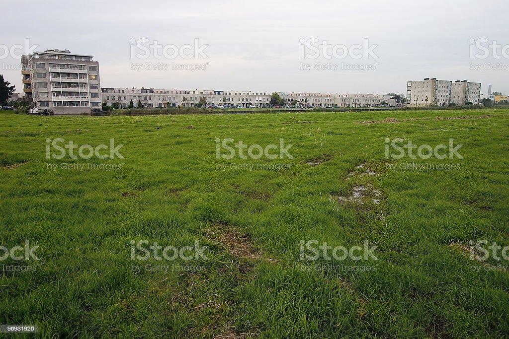 Undeveloped land royalty-free stock photo