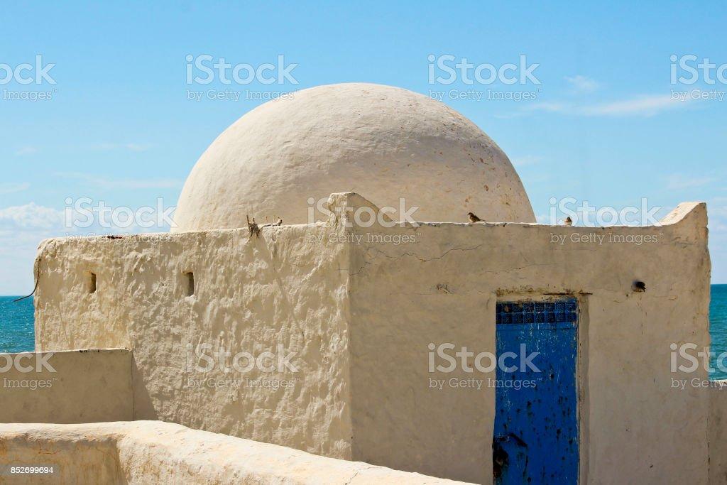 Une chambre dans le mosquée Sidi Jmour stock photo