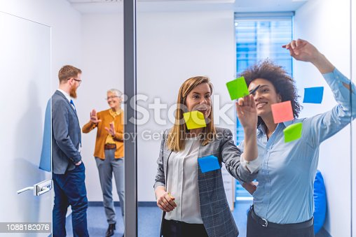 istock Unearthing brilliant new ideas for business 1088182076