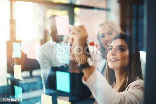 istock Unearthing brilliant new ideas for business 913649020