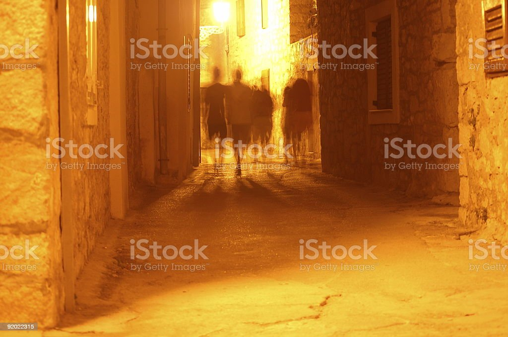 Unearthly Alley stock photo