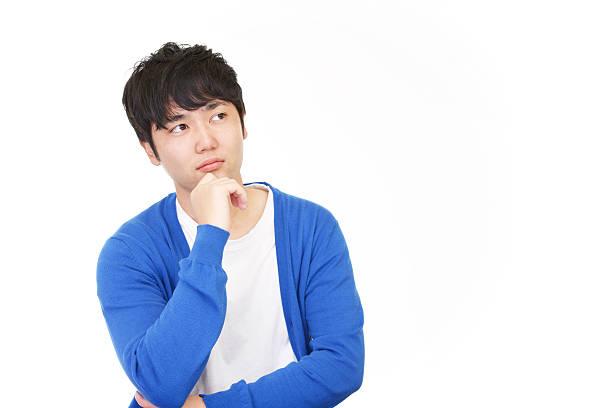 アジア実業家 不安な - 男性のみ ストックフォトと画像