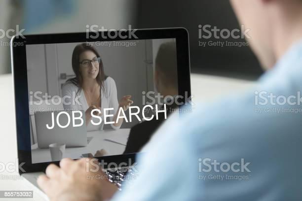 Unemployed man using laptop searching work online applying for picture id855753032?b=1&k=6&m=855753032&s=612x612&h=zaqjzxltkek3xtqfrcl6uzuhzmczkigbukf1gvixa2q=